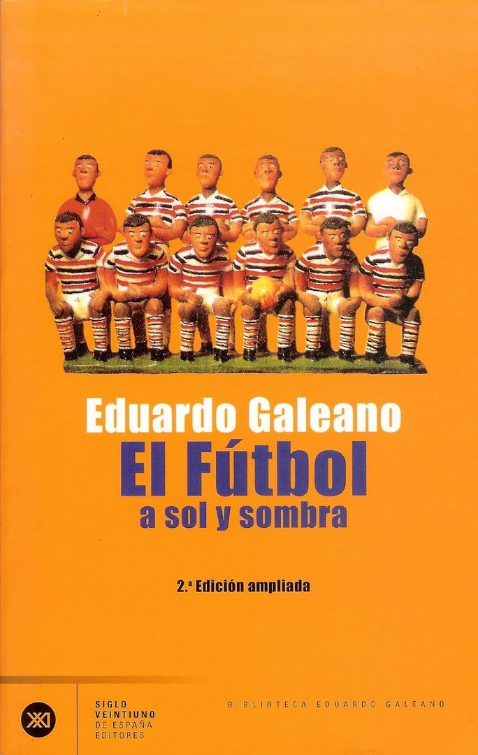 Libro El fútbol, a sol y a sombra